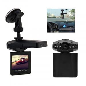 2,5 pouces écran haute définition enregistreur vidéo, 6 LED lumière, format vidéo AVI, carte SD de soutien, fonction d'enregistrement en boucle (schéma Generalplus) (noir) SH607A560-20