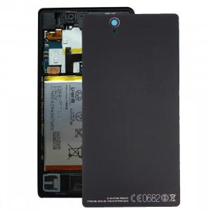 Couverture arrière de batterie de rechange en aluminium pour Sony Xperia Z / L36h (Noir) SC136B1335-20
