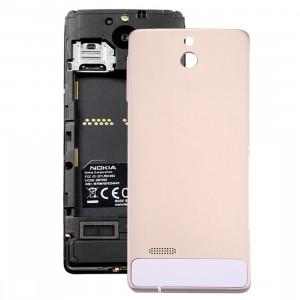 iPartsAcheter pour Nokia 515 Couvercle arrière de la batterie en aluminium d'origine (or) SI55JL712-20