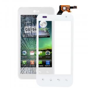 Pièce de Digitizer d'écran tactile pour LG P990 / P999 / Optimus G2x (blanc) SP05051603-20