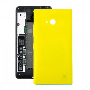iPartsAcheter pour Nokia Lumia 735 remplacement de la couverture arrière de la batterie (jaune) SI550Y1688-20