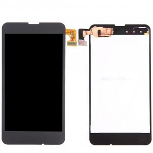 iPartsAcheter pour Nokia Lumia 630 écran LCD + écran tactile Digitizer Assemblée (Noir) SI566B1955-20