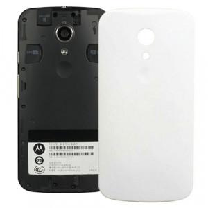 iPartsBuy remplacement de la couverture arrière de la batterie pour Motorola Moto G (2e génération) XT1063 / XT1068 / XT1069 (blanc) SI568W1523-20