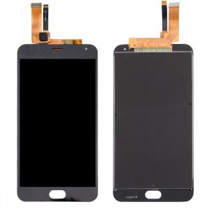 iPartsBuy Meizu M2 Note / Meilan Note 2 Écran LCD + Écran Tactile Digitizer Assemblée (Noir) SI786B276-20