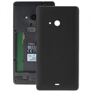iPartsBuy pour Microsoft Lumia 540 couvercle de la batterie arrière (noir) SI010B1813-20