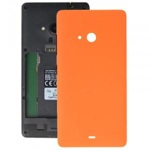 iPartsBuy pour Microsoft Lumia 540 couvercle de la batterie arrière (Orange) SI010E991-20