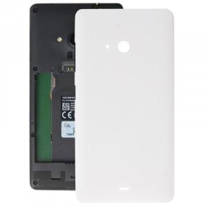 iPartsAcheter pour Microsoft Lumia 540 couvercle arrière de la batterie (blanc) SI010W1169-20