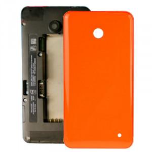 iPartsAcheter pour Nokia Lumia 635 boîtier couvercle arrière de la batterie + bouton latéral (orange) SI318E1797-20
