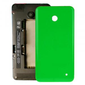 iPartsAcheter pour Nokia Lumia 635 boîtier couvercle arrière de la batterie + bouton latéral (vert) SI318G1330-20