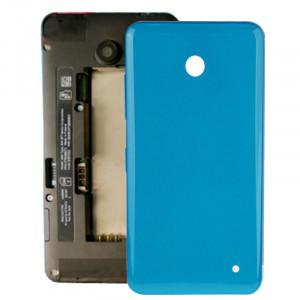 iPartsAcheter pour Nokia Lumia 635 boîtier couvercle arrière de la batterie + bouton latéral (bleu) SI318L1421-20