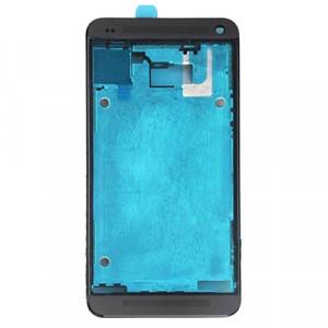 iPartsBuy Avant Logement LCD Cadre Lunette de remplacement pour HTC One M7 / 801e (Noir) SI043B999-20