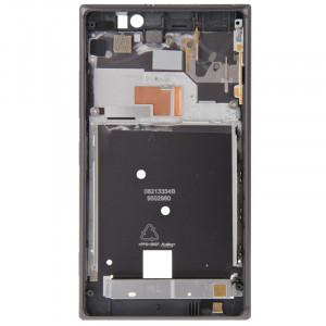 iPartsBuy Avant Logement pour Nokia Lumia 925 (Noir) SI068B48-20