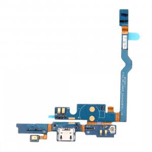 iPartsBuy Connecteur de charge USB Port Câble Flex & Microphone Câble de remplacement pour LG P760 / Optimus L9 / P765 / P768 SI22231730-20