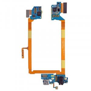 iPartsBuy Connecteur de charge USB Port Câble Flex & Microphone Câble Flex pour LG G2 / LS980 SI2226368-20