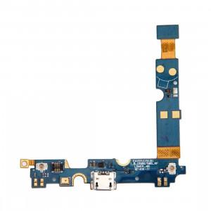 iPartsBuy Connecteur de charge USB Port Câble Flex et microphone Câble de remplacement pour LG Optimus F6 / D500 / D505 SI2235533-20