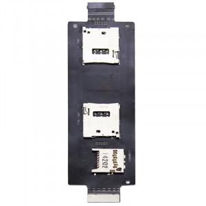 iPartsBuy SIM Lecteur de carte SD Contacter Flex câble ruban pour Asus Zenfone 2 / ZE500ML / ZE500 SI2333954-20