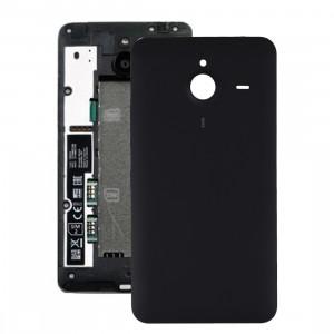 iPartsAcheter pour Microsoft Lumia 640 XL couvercle arrière de la batterie (noir) SI400B1264-20
