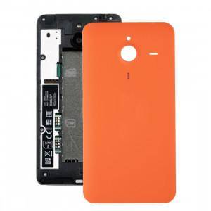 iPartsAcheter pour Microsoft Lumia 640 XL couvercle arrière de la batterie (Orange) SI400E77-20