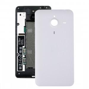iPartsAcheter pour Microsoft Lumia 640 XL couvercle arrière de la batterie (blanc) SI400W1870-20