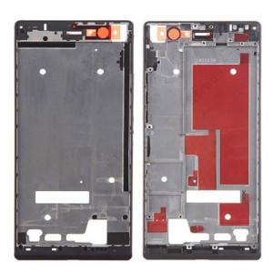 iPartsBuy Boîtier de Cadre de Cadre Avant pour Huawei Ascend P7 (Noir) SI396B516-20