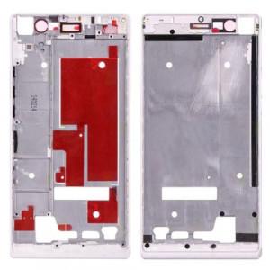 iPartsBuy Boîtier de Cadre de Cadre Avant pour Huawei Ascend P7 (Blanc) SI396W1267-20