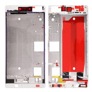 iPartsBuy Boîtier de remplacement de cadre d'écran avant pour Huawei Ascend P8 (blanc) SI398W545-20