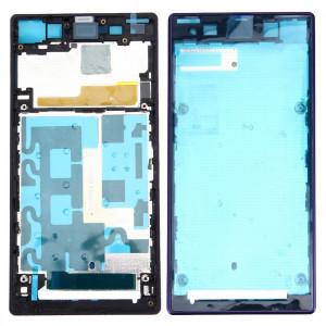 iPartsBuy Avant Logement LCD Cadre Lunette de remplacement pour Sony Xperia Z1 / C6902 / L39h / C6903 / C6906 / C6943 (Violet) SI063P1187-20