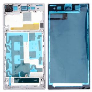 iPartsBuy Avant Logement LCD Cadre Lunette de remplacement pour Sony Xperia Z1 / C6902 / L39h / C6903 / C6906 / C6943 (Blanc) SI063W1031-20