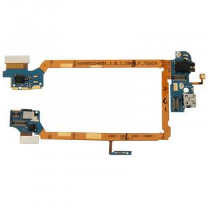 iPartsBuy Port de chargement Flex câble ruban avec prise écouteurs pour LG G2 / D800 SI4204766-20