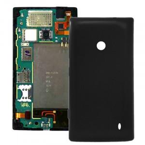 Remplacement de couverture de logement arrière en plastique pour Nokia Lumia 520 (noir) SR050B948-20