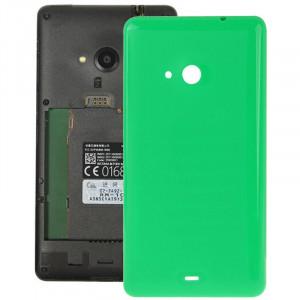 Remplacement lisse de couverture de logement arrière en plastique lisse pour Microsoft Lumia 535 (vert) SR055G714-20