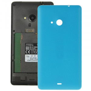 Remplacement de couverture de logement arrière en plastique givré de surface pour Microsoft Lumia 535 (bleu) SR055L592-20