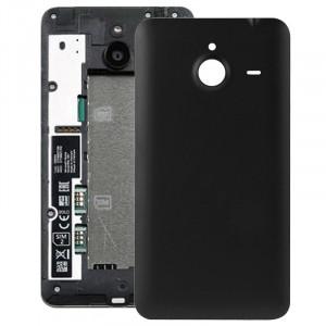 Remplacement de couverture de logement arrière en plastique givré de surface pour Microsoft Lumia 640XL (noir) SR056B1651-20