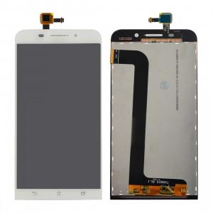 iPartsAcheter pour Asus ZenFone Max / ZC550KL LCD écran + écran tactile Digitizer Assemblée (Blanc) SI500W5-20