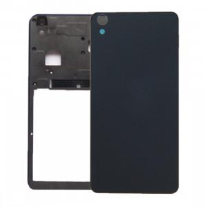 iPartsBuy remplacement de la couverture arrière de la batterie pour Lenovo S850 (noir) SI301B1115-20