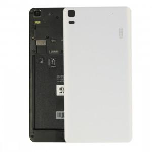 iPartsAcheter Lenovo K3 Note / K50-T5 / A7000 Turbo couvercle arrière de la batterie (blanc) SI303W242-20