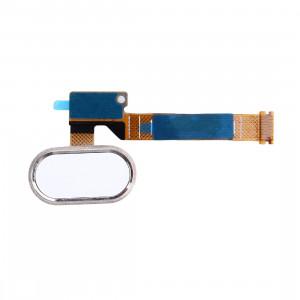 iPartsBuy Home Flex câble avec remplacement d'identification d'empreintes digitales pour Meizu MX5 (blanc) SI812W428-20