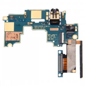 iPartsBuy Mainboard & Contrôle du Volume Bouton / Écouteur Jack Câble Flex Remplacement pour HTC One M7 / 801e / 801n SI80141492-20