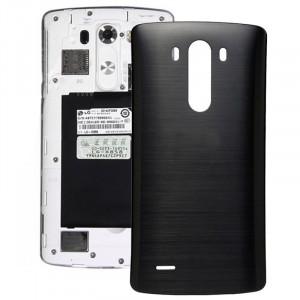 iPartsAcheter pour LG G3 Couverture arrière d'origine avec NFC (Noir) SI800B844-20