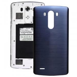 iPartsAcheter pour LG G3 couverture arrière d'origine avec NFC (bleu foncé) SI800D1063-20