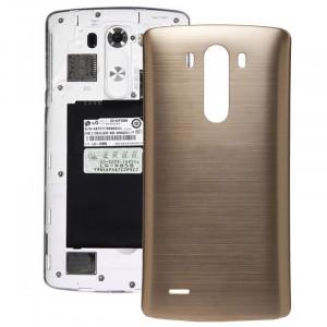 iPartsAcheter pour LG G3 couverture arrière d'origine avec NFC (Gold) SI800J1949-20