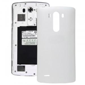 iPartsAcheter pour LG G3 Couverture arrière d'origine avec NFC (Blanc) SI800W1947-20