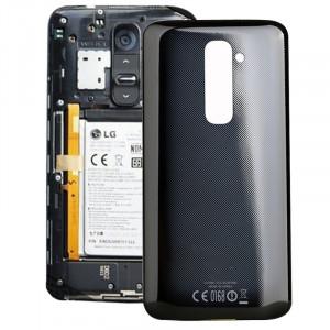 iPartsAcheter pour LG G2 / D802 Couverture arrière d'origine (Noir) SI847B454-20