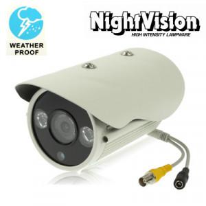 1/3 SONY 700TVL 8mm Objectif Array Caméra vidéo CCD couleur à dôme étanche, distance IR: 50 m (taille: 210 (l) x 100 (l) x 85 (h) mm) SH247C260-20