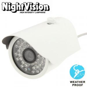 Caméra vidéo couleur CMD IR et étanche à l'eau, 3,6 mm, distance IR: 50 m SH02721082-20