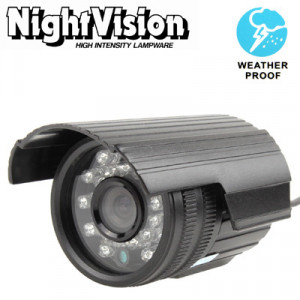 1/4 Sharp 420TVL 3.6mm Objectif IR et Mini caméra couleur CCD étanche, Distance IR: 30m SH279E980-20