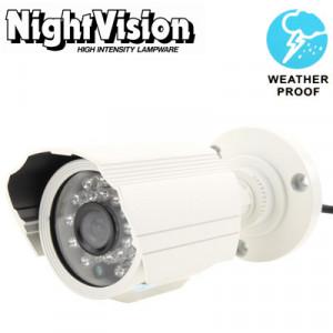 1/3 Sony 700TVL 3.6mm Objectif IR et Mini caméra couleur CCD étanche, Distance IR: 30m SH280C377-20