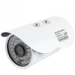 Caméra infrarouge couleur CMOS 420TVL 6mm en métal avec 36 LED, distance IR: 20m SH02851761-20