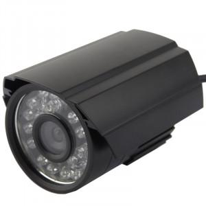 Caméra infrarouge couleur CMOS 420TVL 6mm en métal avec 24 LED, distance IR: 20m SH02871442-20