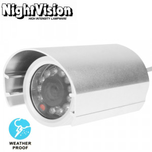 1/3 pouce Sony 420TVL 6mm objectif fixe Array LED et caméra vidéo couleur CCD étanche sans support, Distance IR: 20m SH602A1939-20